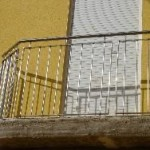 Balcón en acero inoxidable