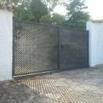 puerta en varilla, cuadrados de 30 mm