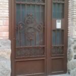 puerta portal forja